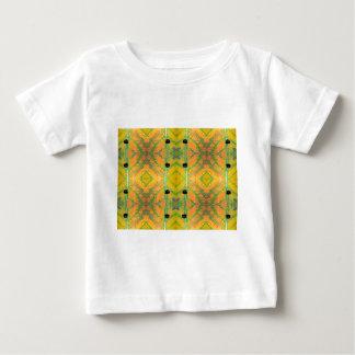 《植物》アスペンの葉の水 ベビーTシャツ