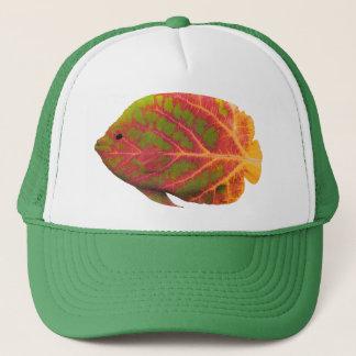 《植物》アスペンの葉の熱帯魚1 キャップ