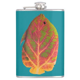 《植物》アスペンの葉の熱帯魚1 フラスク