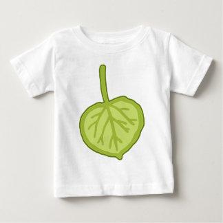 《植物》アスペンの葉 ベビーTシャツ