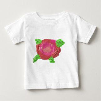 《植物》アスペンは上がりました ベビーTシャツ