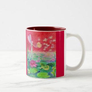 《植物》スイレンのダンサー ツートーンマグカップ