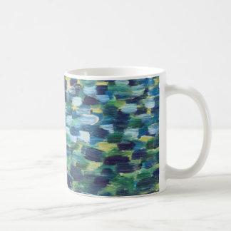 《植物》スイレンのマグ コーヒーマグカップ