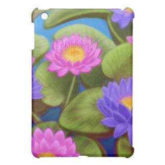 《植物》スイレンの庭のSpeckの場合 iPad Mini Case