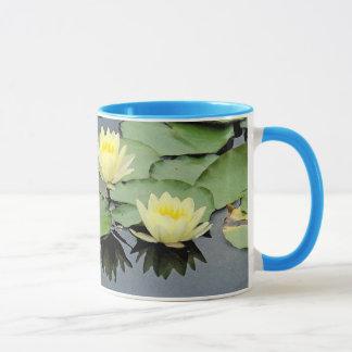 《植物》スイレンの池のマグ マグカップ