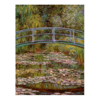 《植物》スイレンの池の郵便はがき ポストカード