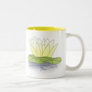 《植物》スイレン ツートーンマグカップ