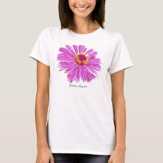《植物》百日草のティー Tシャツ
