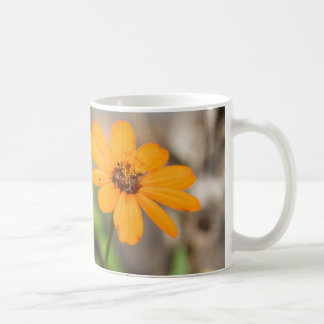 《植物》百日草のマグ コーヒーマグカップ