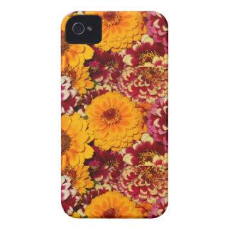 《植物》百日草の爆発 Case-Mate iPhone 4 ケース