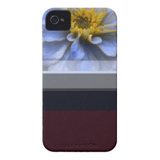 《植物》百日草の花 Case-Mate iPhone 4 ケース