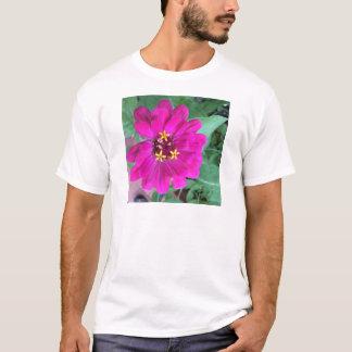 《植物》百日草4 Tシャツ