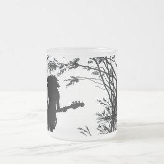 検討の魔法の谷のロッカーによって曇らされるマグ フロストグラスマグカップ