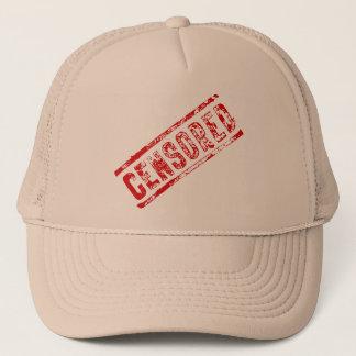 検閲されたトラック運転手の帽子 キャップ