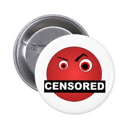 検閲される|スマイリー 缶バッジ