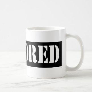 検閲官のバーのマグ コーヒーマグカップ