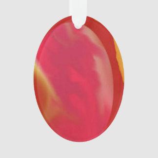 楕円形のオーナメントの大理石の卵の芸術のデザインのピンクの紫色 オーナメント