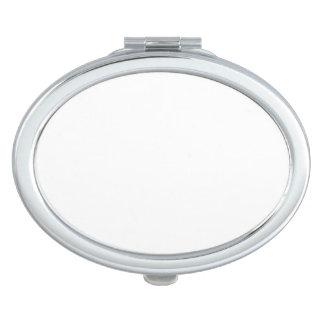 楕円形の密集した鏡