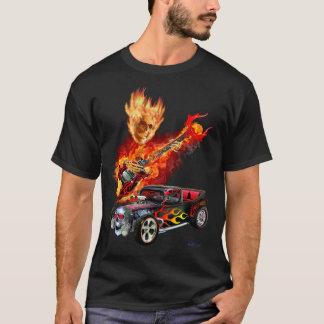 業火は改造しました Tシャツ