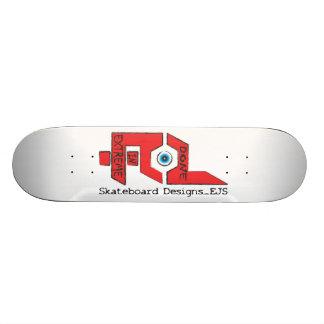 極度で大きいロゴのスケートボードでされる スケートボードデッキ