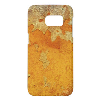極度で汚いオレンジ錆によって汚されるセメント SAMSUNG GALAXY S7 ケース