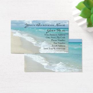 極度なくつろぎのビーチのエレガントなスパ旅行 名刺