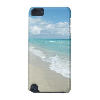 極度なくつろぎのビーチの眺めの海 iPod TOUCH 5G ケース