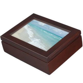極度なくつろぎのビーチの眺め ジュエリーボックス