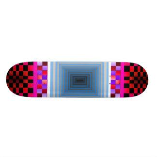 極度なスケートボードの目の錯覚7 CricketDiane 18.1cm オールドスクールスケートボードデッキ