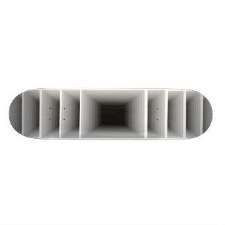 極度なデザインの無限銀の光学スケートボード 21.6CM オールドスクールスケートボードデッキ