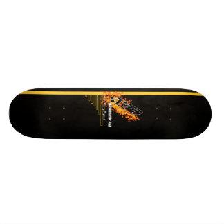 極度な恐怖のディスコ-広告宣伝のデッキ スケートボード