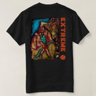 極度な石の登山 Tシャツ