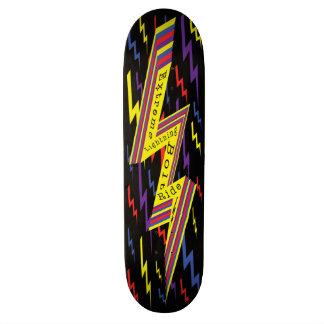 極度な稲妻の乗車のスケートボード オリジナルスケートボード