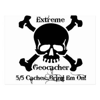 極度なGeocacher… ポストカード