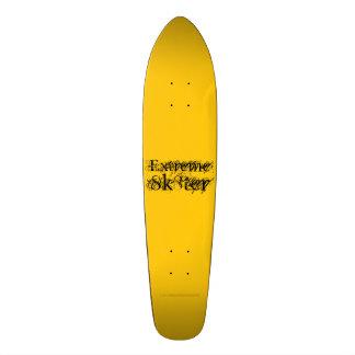 極度なSk8ter スケートボード