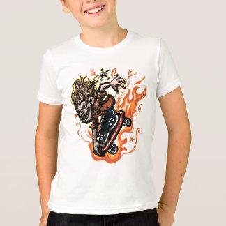 極度なXのスケートボーダー Tシャツ