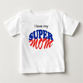 極度のお母さん ベビーTシャツ