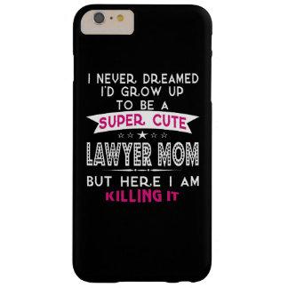 極度のかわいい弁護士のお母さん BARELY THERE iPhone 6 PLUS ケース