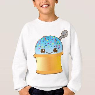 極度のかわいくおいしくおいしいバケツのアイスクリーム! スウェットシャツ