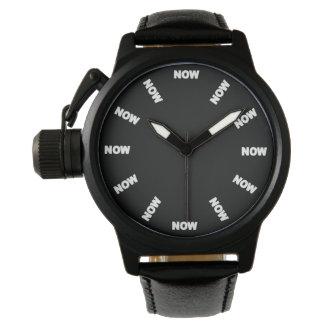"""極度のカッコいいは""""今"""" (黒い) No1を見ます 腕時計"""