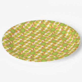極度のカッコいい及び多彩なパターンデザインの紙皿 ペーパープレート