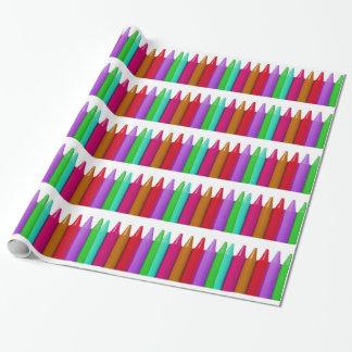 極度のカラフルな包装紙 ラッピングペーパー