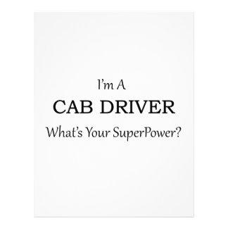極度のタクシー運転手 レターヘッド