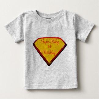 極度のベビーの誕生日 ベビーTシャツ