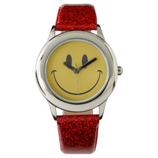 極度の大きいスマイル-あります幸せなemojiが心配しないで下さい 腕時計