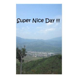 極度の天気の良い日!!! 便箋