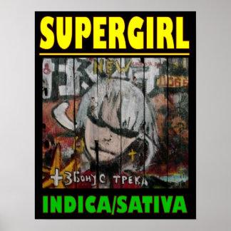 極度の女の子のインドのSATIVA ポスター
