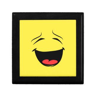 極度の幸せなスマイリーフェイスEmoji ギフトボックス