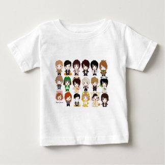 極度の後輩((大きい)漫画の壁紙) ベビーTシャツ