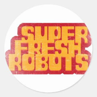 極度の新しいロボット ラウンドシール